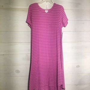 LuLaRoe striped Carly